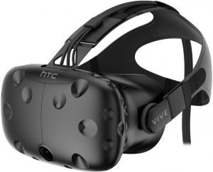 HTC Vive VR Headset Front View