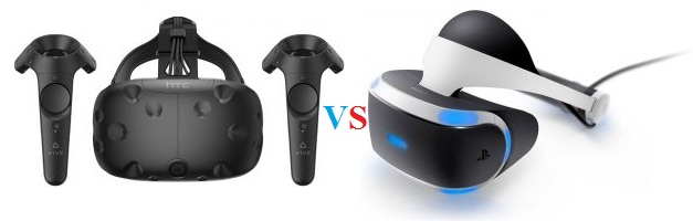 buy HTC Vive VR vs PSVR