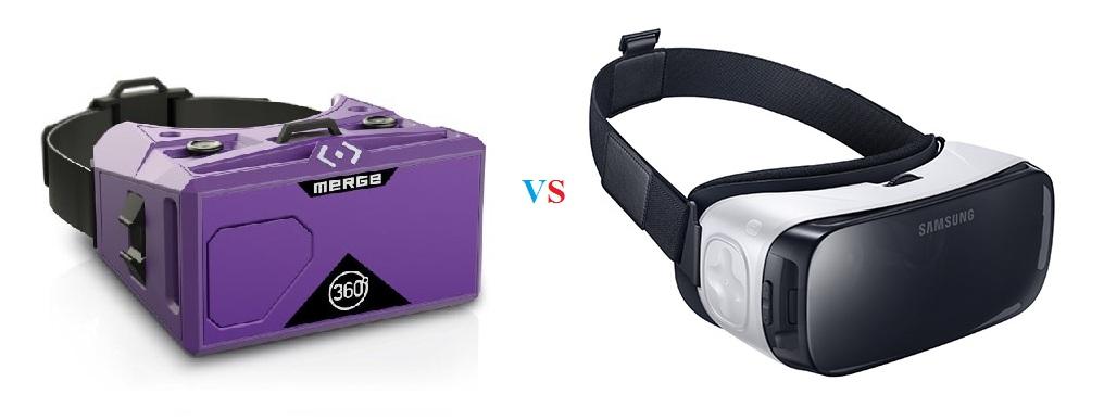 buy Merge VR Headset vs Samsung Gear VR