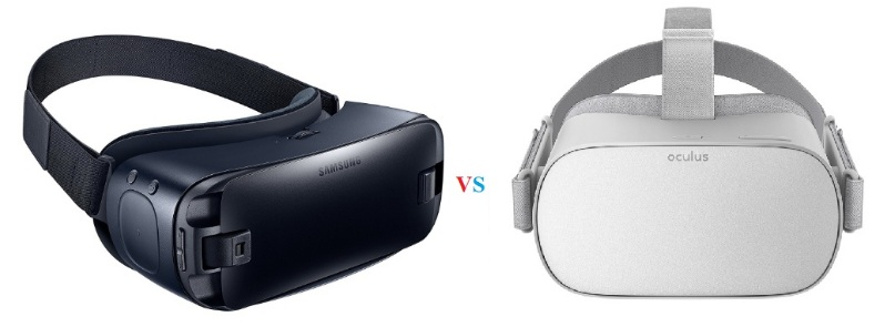 samsung gear vr vs oculus go