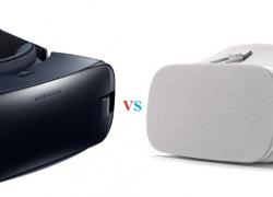 Google Daydream vs Gear VR Headset