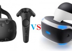 HTC Vive Virtual Reality Headset vs Sony PlayStation VR