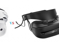 Lenovo Explorer MR vs Dell Visor VR