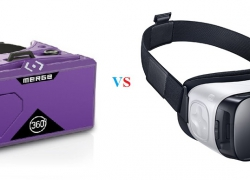 Merge VR Headset vs Samsung Gear VR