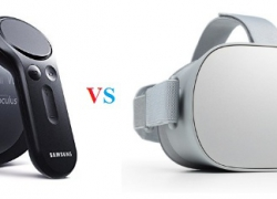 Oculus Rift vs Gear VR Headset