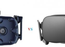 Oculus Rift vs HTC Vive VR Headsets