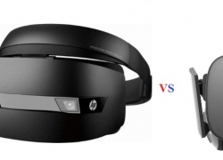 HP Mixed Reality Headset vs Oculus Rift VR